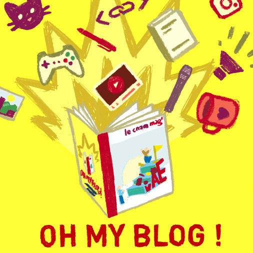 Oh! My blog!